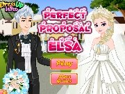 Fun game Elsas Perfect Proposal