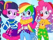 Equestria Girls Winter Fashion game