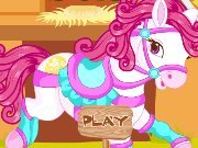 The pony Dress up