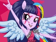 Pony Twilight Sparkle the rock star