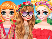 Princesses Tropical Escape game