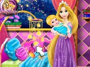Game Mommy Rapunzel Crib Decor