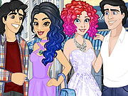 Princess Amazing Double Date game