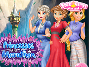 Princesses Party Marathon game