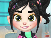 Vanellope Princess Makeover game