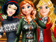 Princess Winter Fun game