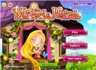 Miracle Haridro game about Rapunzel