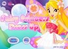 Fairy princess dress up game.
