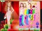 Fashion girl dressup game.