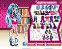 Choose cool dress for Ghoulia from Monster High.