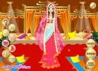 Indian wedding dress up game.