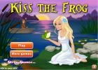 Kiss the frog game.