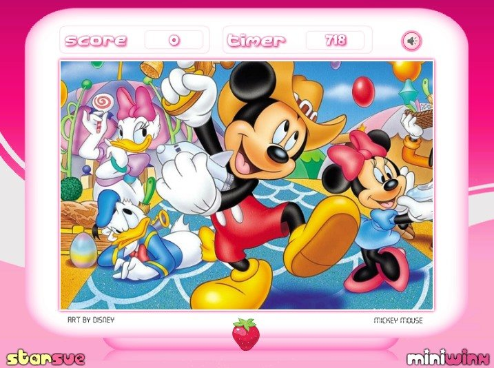 My Disney Kitchen Birthday Cake For Minnie Mouse Games ~ Image ...