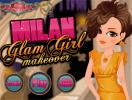 Milan glam girl makeover game.