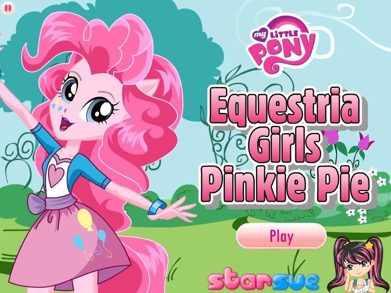 Pony Pinkie Pie game