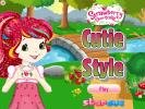 Style for Strawberry dress up games.