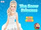 The snow princess dressup game.