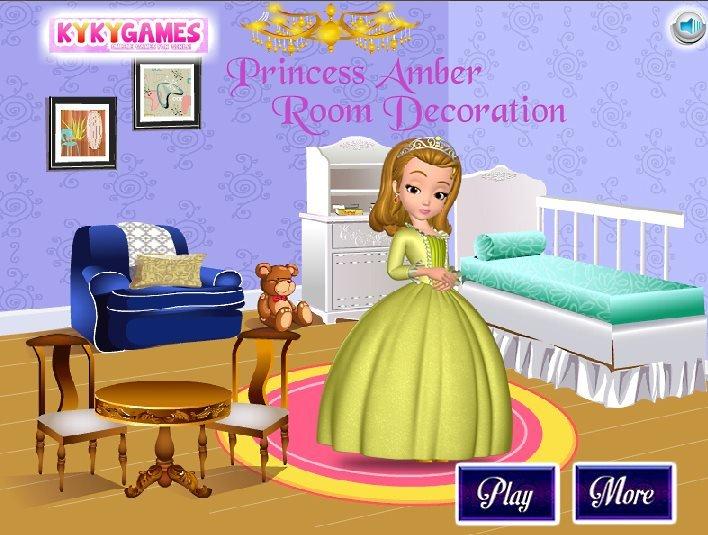 Room Design For Princess Game