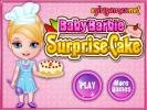Baby Barbie Surprise Cake online game.