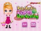 Baby Barbie learns Gardering game.