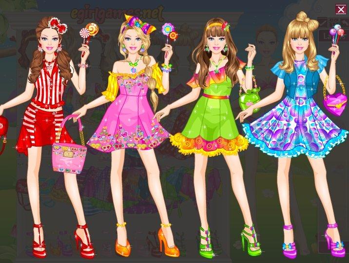 barbie lollipop dress up games