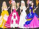 Select one of the wedding dresses for Barbie.