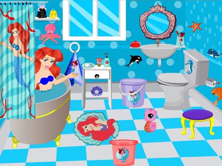 Bathroom design for ariel game - Bathroom design games ...