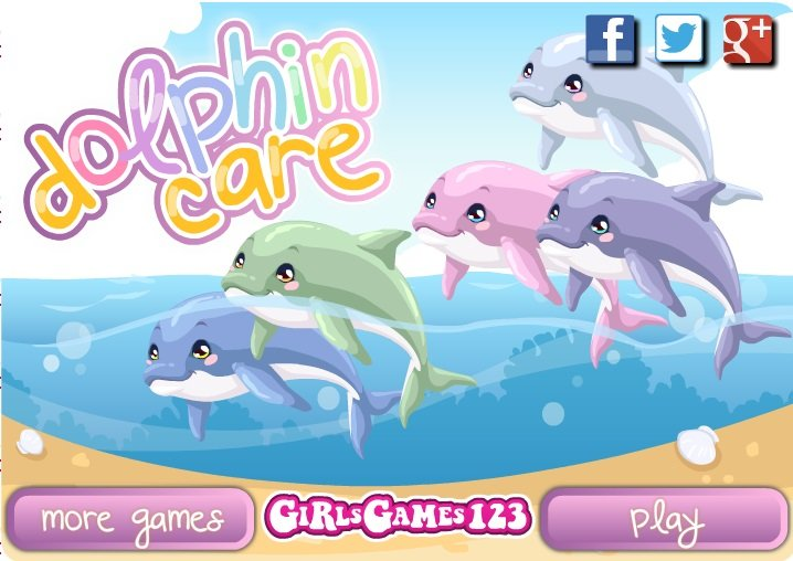 dolphin games for free for girls
