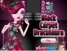 Draculaura on the black carpet dress up game.