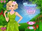 Flower fairy dress up game.