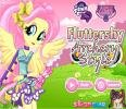 Fluttershy Archery Style game.