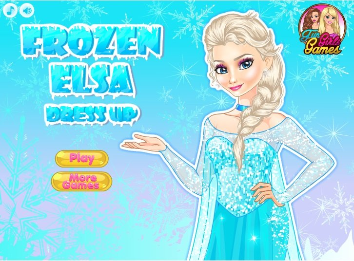 elsa frozen games