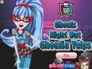 Ghoulia dress up game.