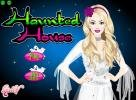Haunted house dress up game.