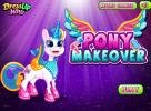 Pony makeover game.