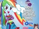 Pony Rainbow dressup game