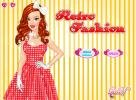 Retro Fashion dressup game.