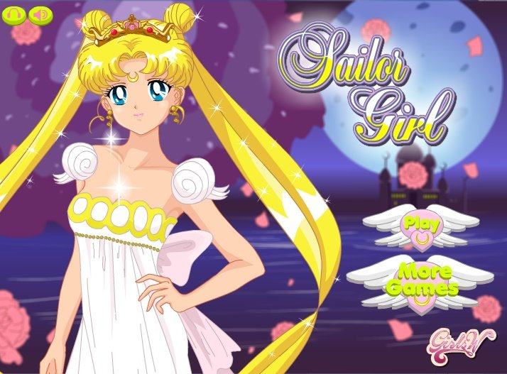 Sailor Moon Creator- Fun Online Fashion Dress Up Games for Girls ...