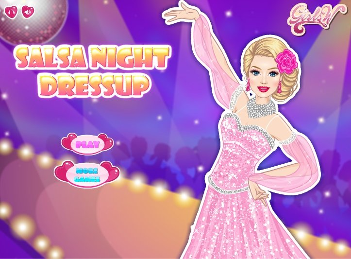 Salsa dancer... First Night Dress Up Games