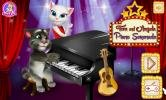 Talking cat Tom and Angela Piano Serenade game.