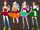 Barbie Puppet Princess dress up game.