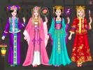 Versions of the costume for Princess of China.