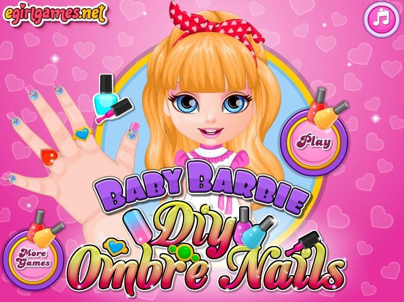 barbie baby hazel games