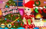 Baby Juliet Christmas Fun game.