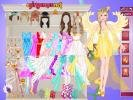 Barbie Angel Bride dress up game.