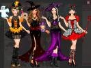 Barbie Dark princess dress up game.