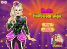 Barbie Halloween Night dress up game.