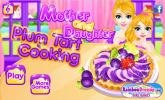 Mother and Daughter Plum Tart Cooking game.