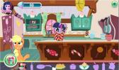 Help pony to perform all actions and make pie.