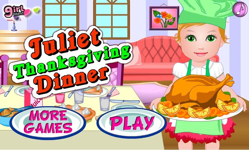 Juliet Thanksgiving Dinner Game